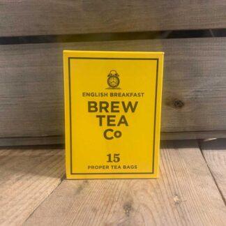 Brew Tea Co, English Breakfast Tea bags