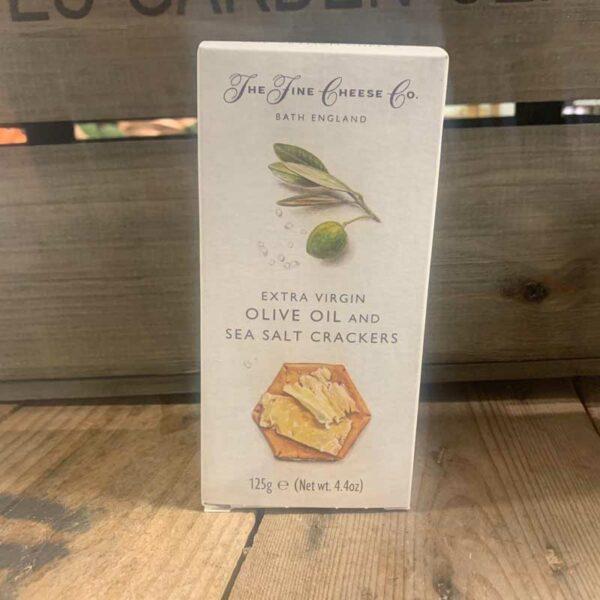 Fine Cheese Ex Virgin O/Oil & Sea Salt Crackers 125g