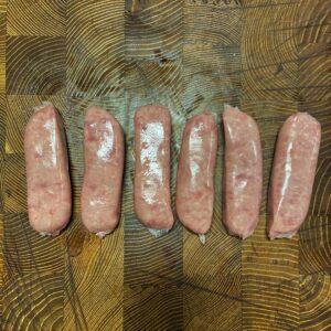 Classic Pork Sausage x6