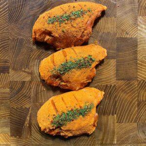 Piri Piri part boned chicken breast x3