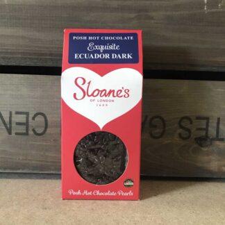 Sloane's Exquisite Equador Dark 70% Hot Choc 250g