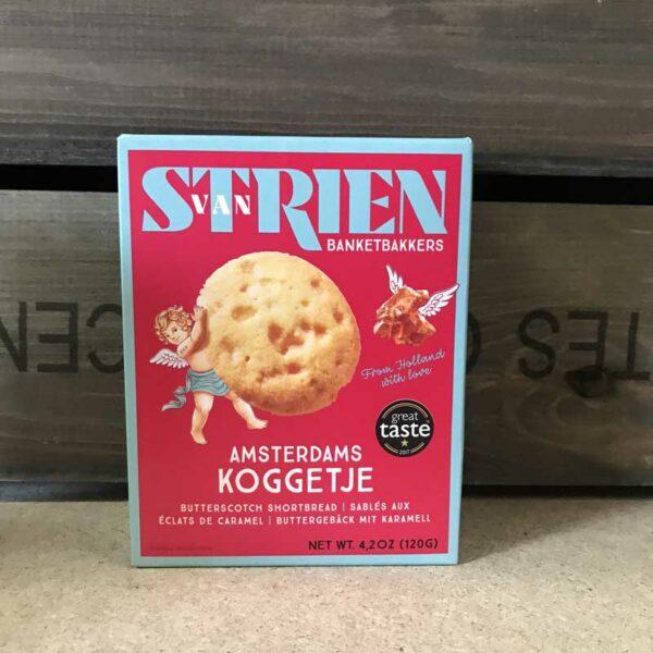 Van Strien - Butterscotch Shortbread 120g