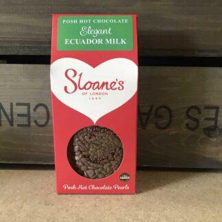 Sloane's Elegant Ecuador Milk 39% Hot Choc 250g