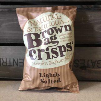 Brown Bag Crisps GF Lightly Salted 150g