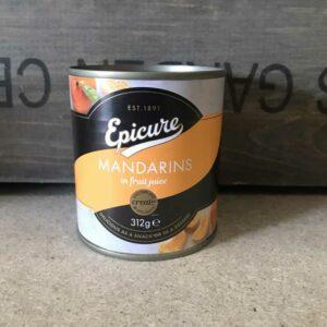 Epicure Mandarin Segments in Fruit Juice 312g
