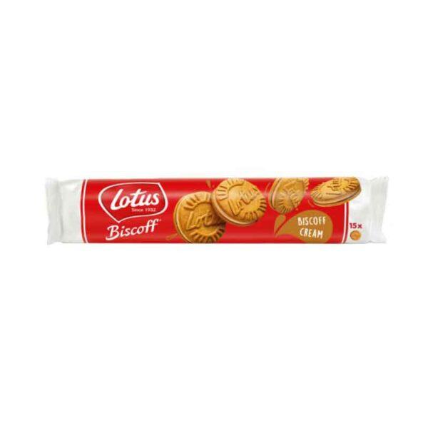 Lotus Biscoff Sandwich Biscuits with Biscoff Cream Filling (150g)
