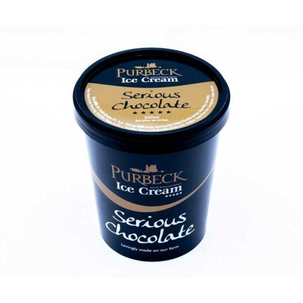 Purbeck Serious Chocolate Ice Cream