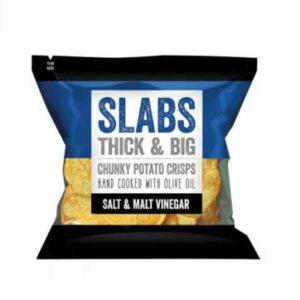 Slabs Crisps Salt & Malt Vinegar (80g)