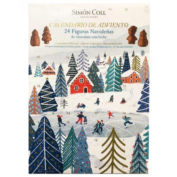 Simón Coll Chocolate Advent Calendar (216g)