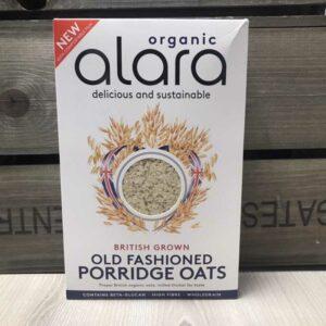 Alara Old Fashioned Oats Organic 650g