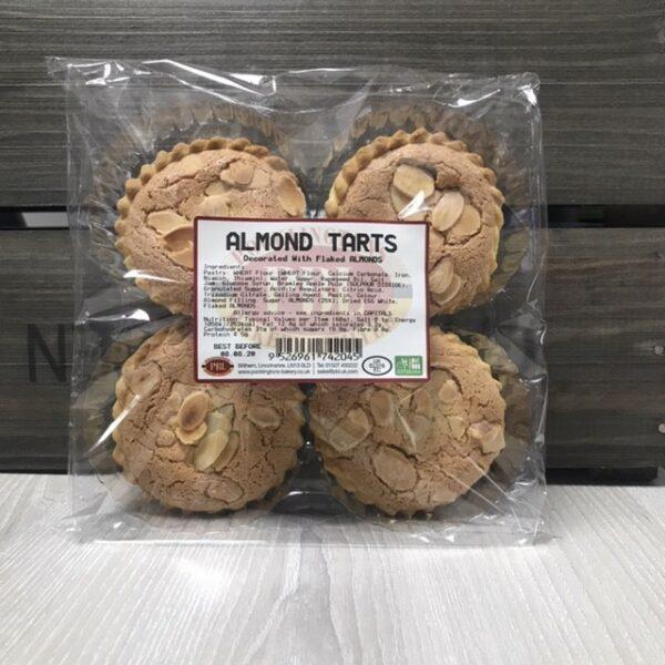 Almond Tarts x 4
