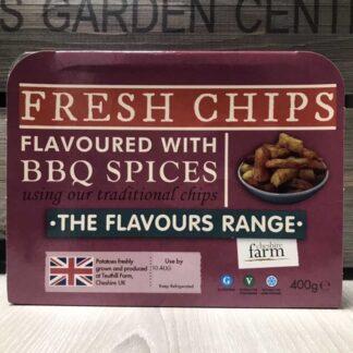 Cheshire Farm BBQ Chips (400g)