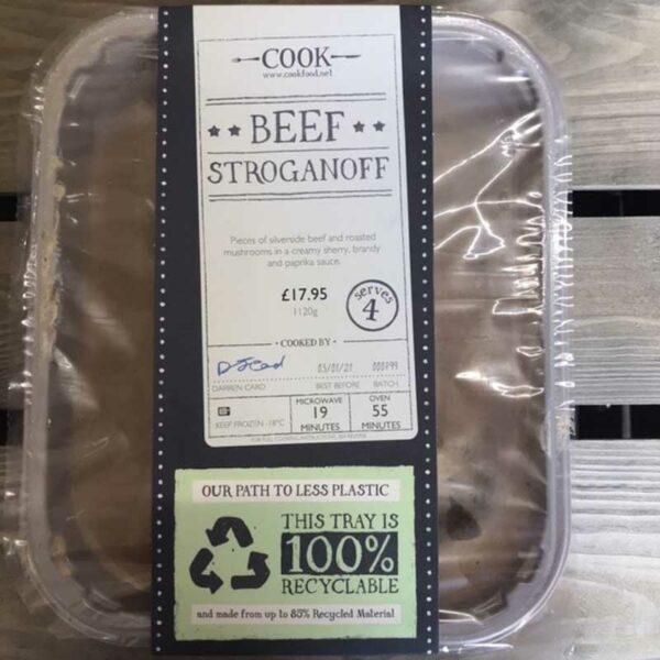 COOK Beef Stroganoff