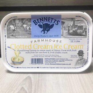Bennetts Clotted Cream (1 Litre)