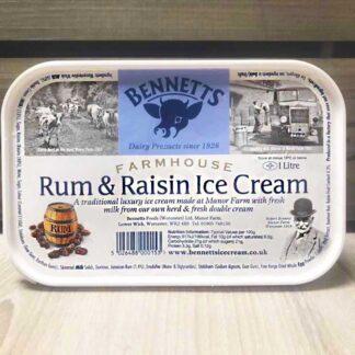 Bennetts Rum & Raisin (1 Litre)