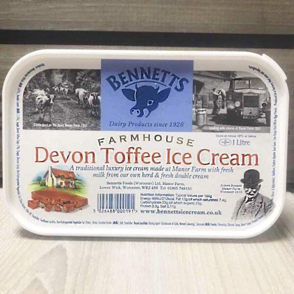 Bennetts Devon Toffee (1 Litre)