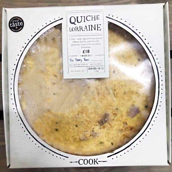 COOK Quiche Lorraine (Serves 10-12)