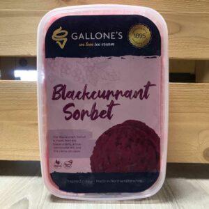 Gallone's Blackcurrant Sorbet (1 Litre)