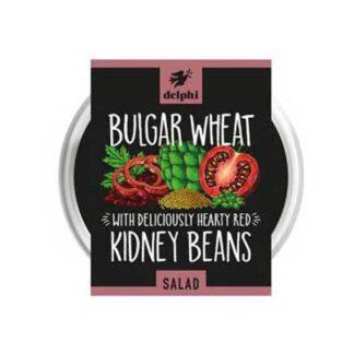 Delphi Bulgar Wheat & Red Kidney Beans Salad (200g)
