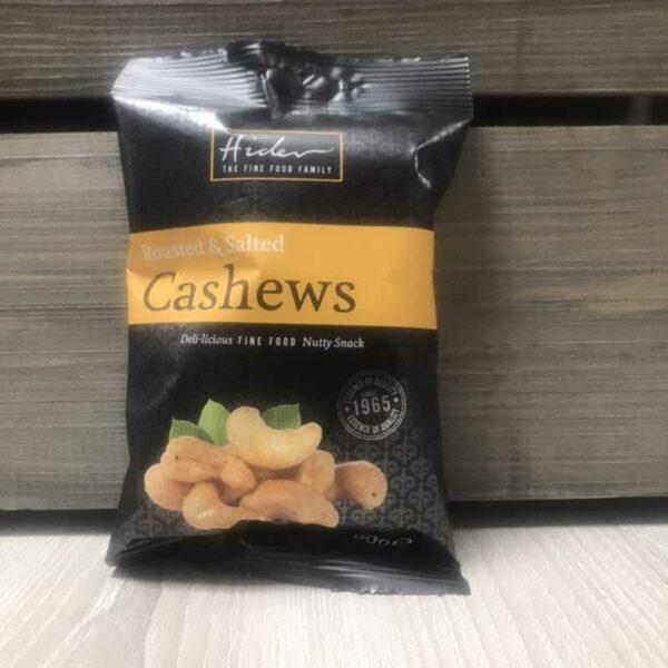 Hildon Roasted & Salted Cashews (90g)