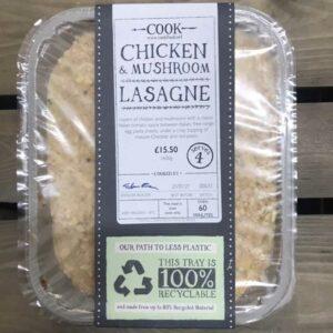 COOK Chicken and Mushroom Lasagne