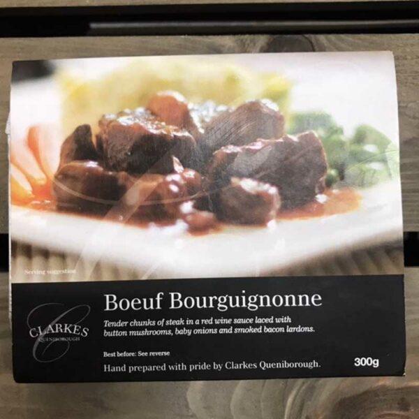 Clarkes Queniborough Bœuf Bourguignon (300g)