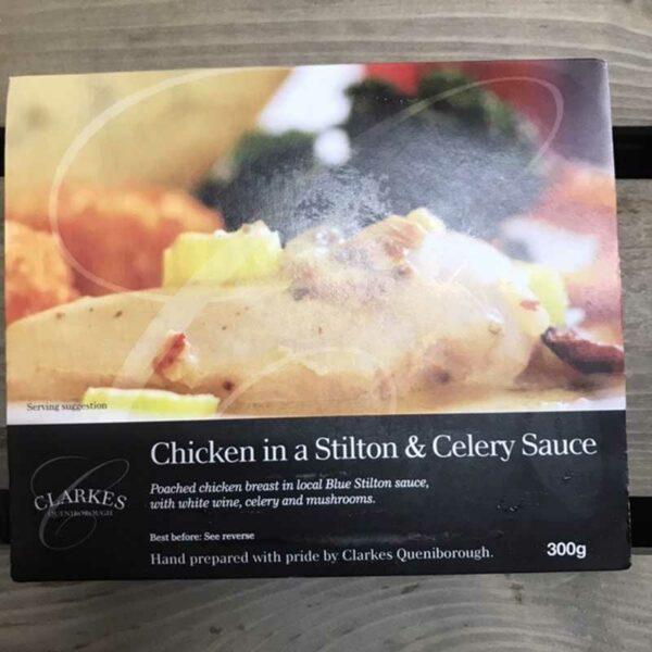 Clarkes Queniborough Chicken in Stilton & Celery Sauce (300g)