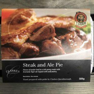 Clarkes Queniborough Steak & Ale Pie (325g)