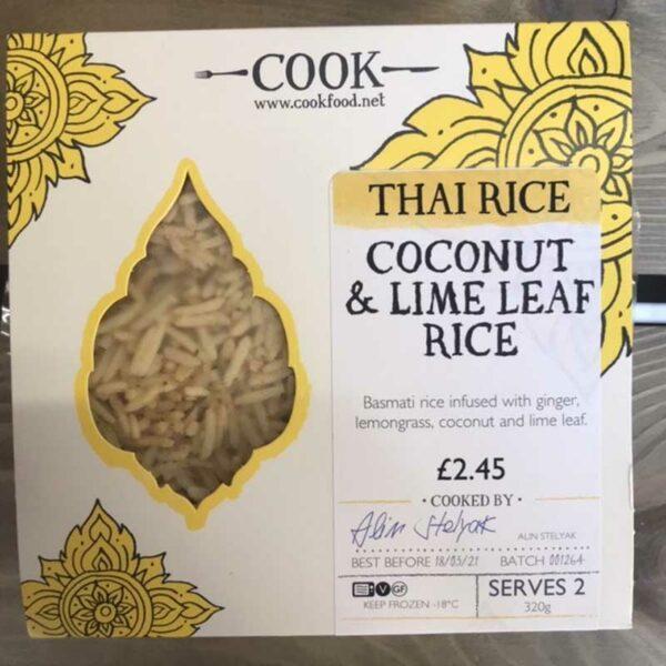 COOK Coconut & Lime Leaf Rice
