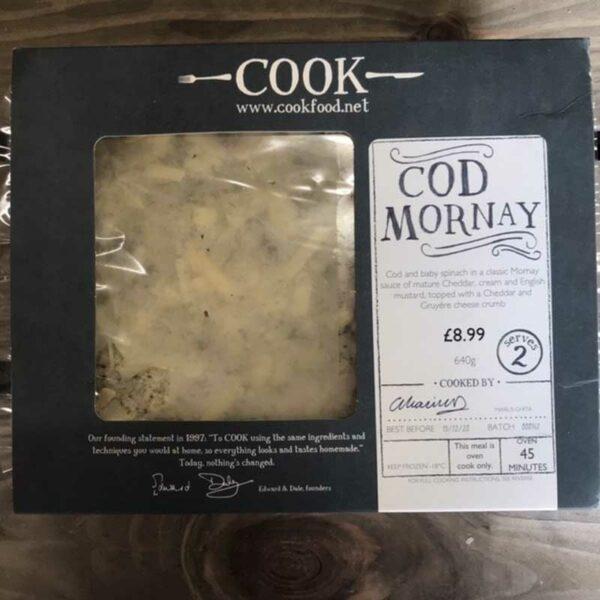 COOK Cod Mornay
