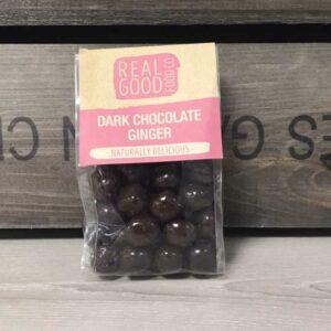 Real Good Food Co Dark Chocolate Ginger (200g)