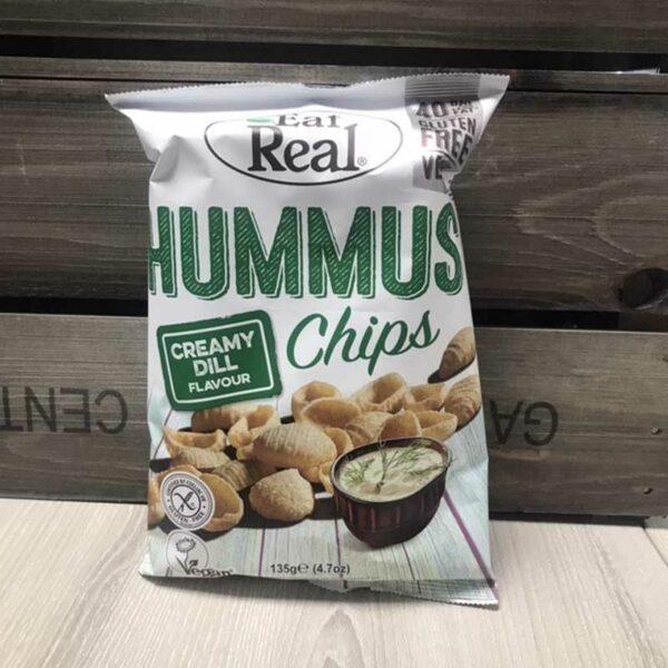 Eat Real Hummus Creamy Dill 135g