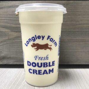 Longley Farm Double Cream BW (250ml)