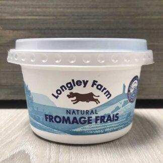Longley Farm Natural Fromage Frais (200g)