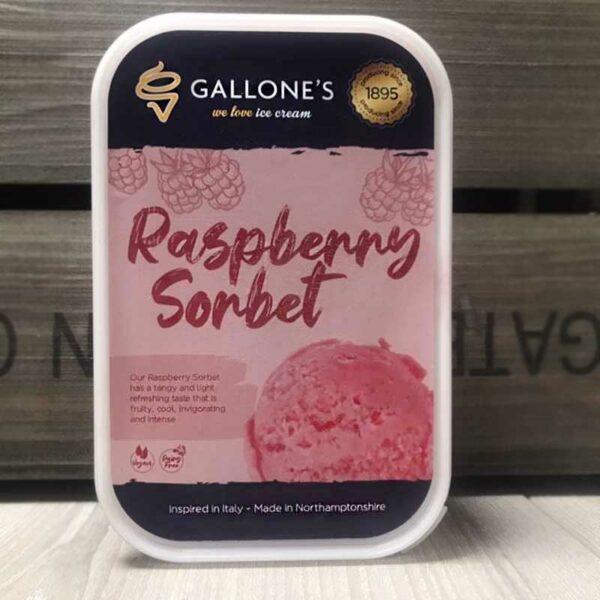 Gallone's Raspberry Sorbet (1 Litre)