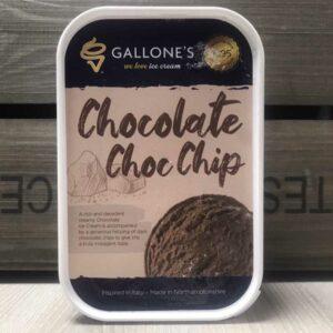 Gallone's Chocolate Chip Ice Cream (1 Litre)