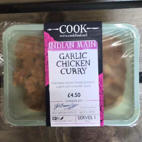 COOK Garlic Chicken Curry