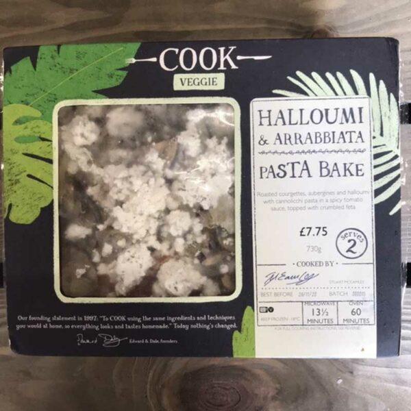 COOK Halloumi and Arrabbiata Pasta Bake