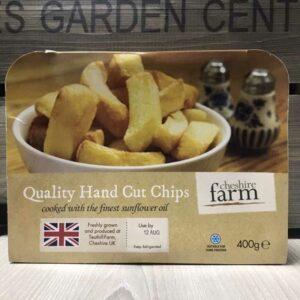 Cheshire Farm Hand Cut Chips (400g)