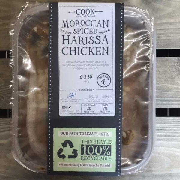 COOK Moroccan Spiced Harissa Chicken