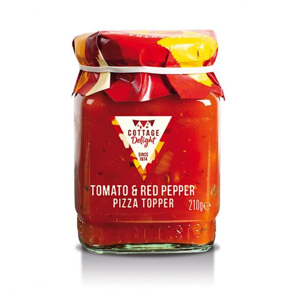 Cottage Delight Tomato & Red Pepper Pizza Topper (210g)