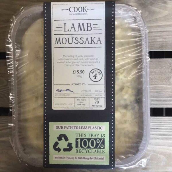 COOK Lamb Moussaka