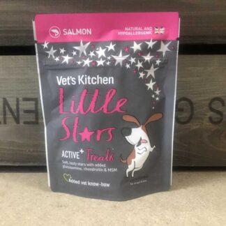 Vet's Kitchen Little Stars Active Salmon Dog Treats 85g