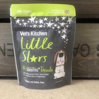 Vet's Kitchen Little Stars Sensitive Pork Dog Treats 85g