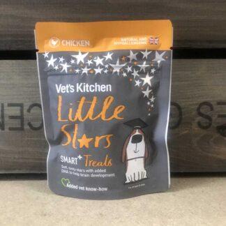 Vet's Kitchen Little Stars Smart Chicken Dog Treats 85g