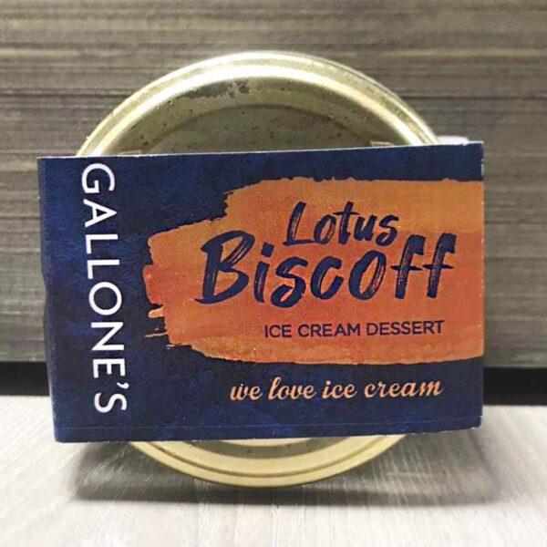 Gallone's Lotus Biscoff Ice Cream Dessert