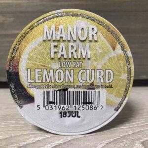 Manor Farm Low Fat Lemon Curd Live Yogurt (125g)
