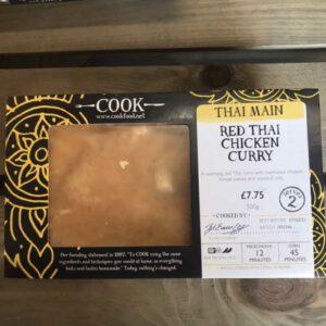 COOK Red Thai Chicken Curry