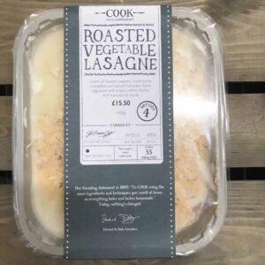 COOK Roasted Vegetable Lasagne
