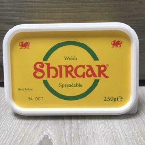 Shirgar Welsh Spreadable Butter (250g)